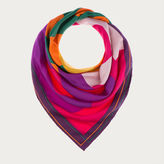 Bally Printed Silk Scarf