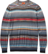 Missoni - Space-dyed Cashmere And Silk-blend Sweater