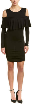 VOOM by Joy Han Voom By Joyhan Ruffle Sheath Dress