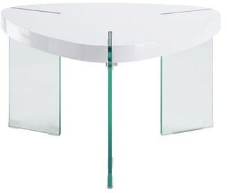 Rosdorf Park Kaitlynn Coffee Table Table Top Color: White
