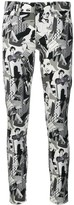Liu Jo all-over print skinny jeans