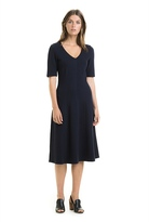 Country Road Twill Ponte Dress