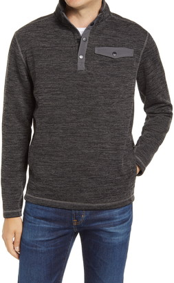 johnnie-O Fleetwood Ribbed Henley Pullover