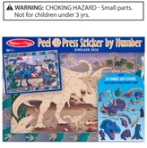 Melissa & Doug Kids Toy, Dinosaur Dusk Peel & Press Sticker by Number