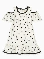 Kate Spade Toddlers cold shoulder dress