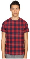 Mostly Heard Rarely Seen Plaid Woven Tee