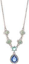 Carolee Nassau Nights Teardrop Necklace