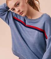Lou & Grey Sundry Heart Patch Sweatshirt