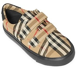 Burberry Little Kid's & Kid's Markham Checkered Sneakers