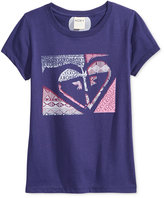 Roxy Quilted Graphic-Print T-Shirt, Little Girls (2-6X)