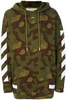 Off-White camouflage Arrows hoodie