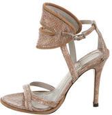Camilla Skovgaard Embossed Leather Sandals