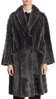 Brunello Cucinelli Laser Reversible Shearling Coat