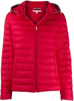 Tommy Hilfiger detachable hood padded jacket
