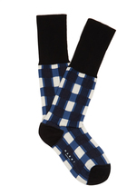 Marni Windowpane-checked ankle socks