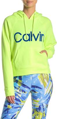Calvin Klein Front Logo Drawstring Hoodie