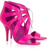Cutout shoe boots