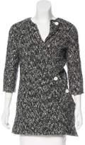 Celine Wool-Blend Asymmetrical Cardigan w/ Tags