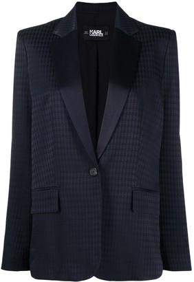 Karl Lagerfeld Paris Jacquard Blazer