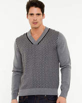 Le Château Cotton V-Neck Sweater