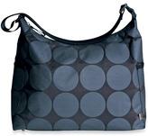 OiOi Charcoal Dot Hobo Diaper Bag