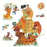 Djeco Pirates Ship Re Positionable Wall Stickers