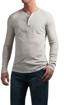 Slate & Stone Riley Henley Shirt - Cotton-Cashmere, Long Sleeve (For Men)
