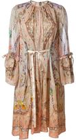 Etro paisley print tunic dress - women - Silk - 46