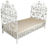 One Kings Lane Vintage Iron Daybed with Cushion