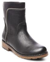 Stevies Girls' #BIKERGAL Zipper Booties - Black
