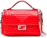 Fendi micro Double Baguette crossbody bag - women - Calf Leather - One Size