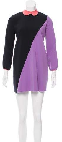 Roksanda Long Sleeve Colorblock Tunic
