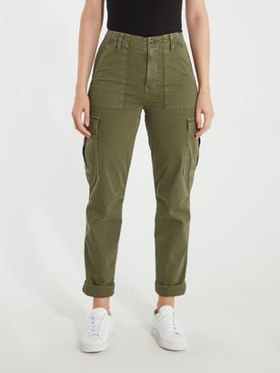 Hudson Jeans High Rise Classic Cargo Pants
