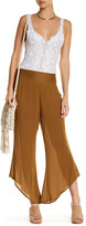 Free People Asymmetrical Solid Flare Pant