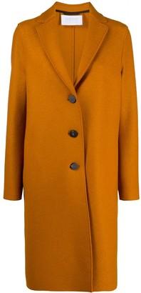Harris Wharf London Single-Breasted Overcoat