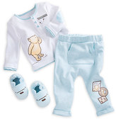 Disney Winnie the Pooh Slipper Set for Baby - Blue