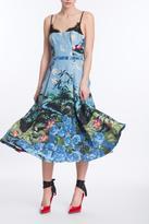 Tracy Reese Sleeveless Midi Dress