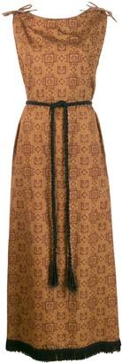 A.N.G.E.L.O. Vintage Cult 1960s Printed Maxi Dress