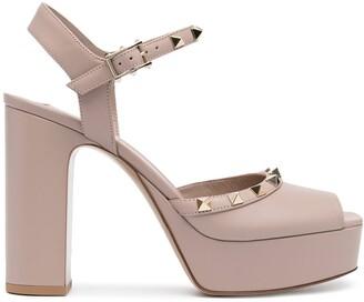 Valentino 110mm Rockstud-embellished sandals