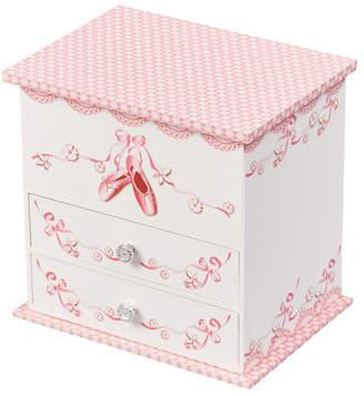 Mele Angel Girl Musical Ballerina Jewelry Box