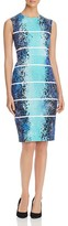 Max Mara Medea Printed Sheath Dress