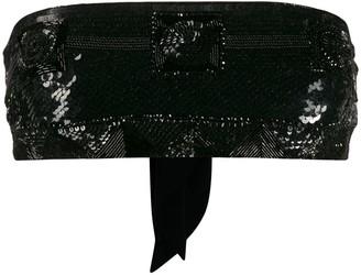 Emilio Pucci Sequin-Embellished Crop Top