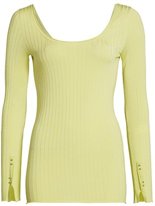 3.1 Phillip Lim Scoopneck Knit Top