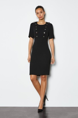 Karen Millen Military Day Dress