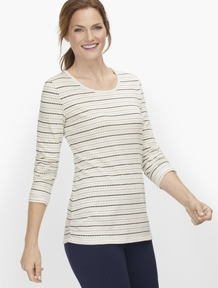 Talbots Side Ruched Tee