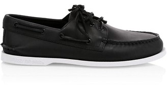 Sperry Cloud 3-Eye Leather Boat Shoes