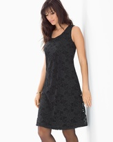 Soma Intimates Lace Overlay Sleeveless Short Dress