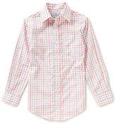 Class Club Big Boys 8-20 Checked Button-Front Long-Sleeve Shirt