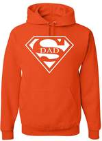 Tee Hunt Super Dad Hoodie Funny Superhero Father's Day Sweatshirt 3XL