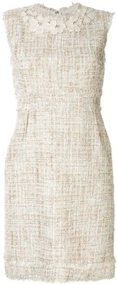 Giambattista Valli Boucle-Tweed Shift Dress